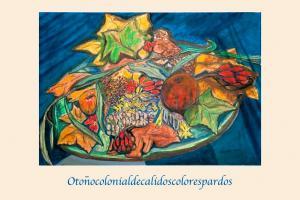Otoñocolonialdecalidoscolorespardos